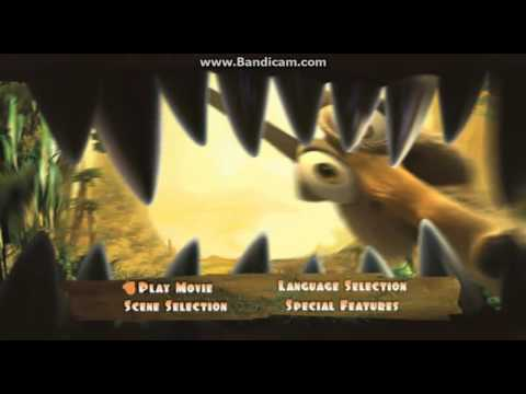 Ice Age Iii 2009 Dvd Menu Walkthrough Youtube