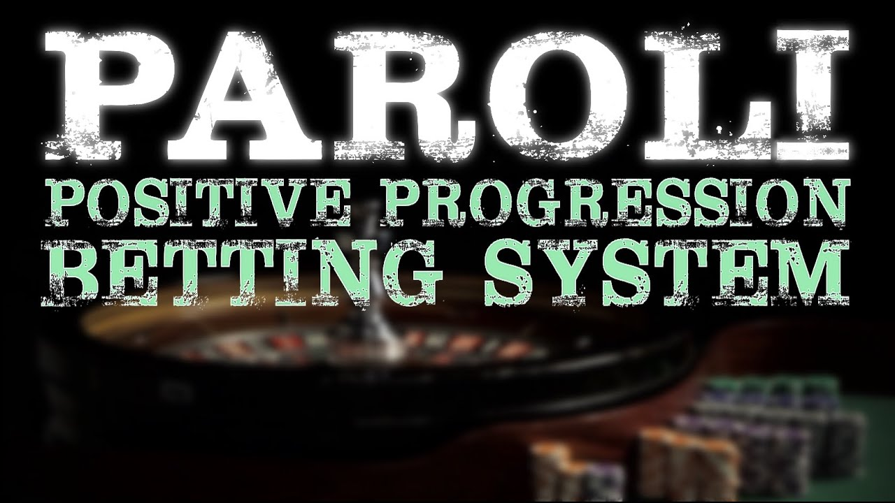 Paroli betting system baccarat sports betting predictions today