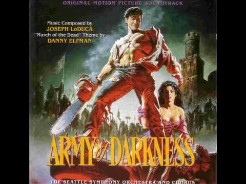 02 Building the Deathcoaster  - ARMY OF DARKNESS SOUNDTRACK