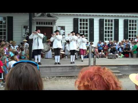 Mormon Tabernacle Choir Flash Mob - Colonial Williamsburg