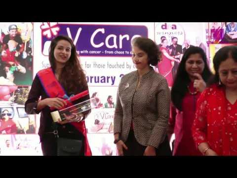 Manisha Koirala Spreading Joy At 'v care' Awards