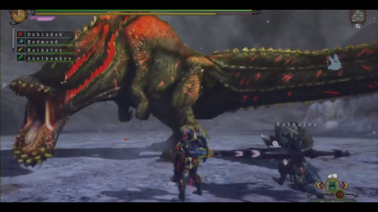 Monster Hunter 3 Ultimate Deviljhos Bad Breath