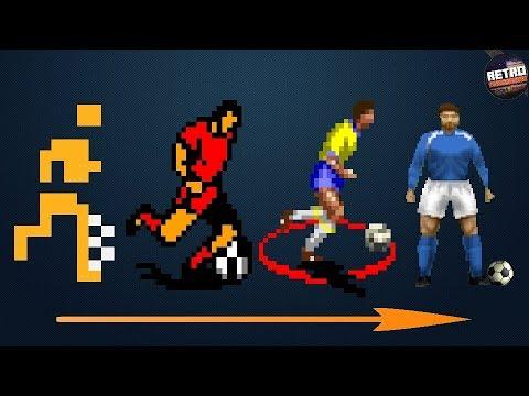 L'histoire du jeu de foot