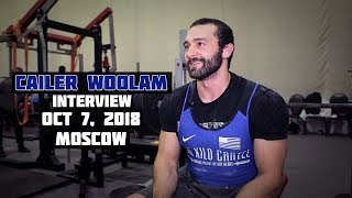 Cailer WOOLAM / Interview / WRPF-2018 / October 7, 2018