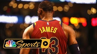 LeBron James gambling with legacy by joining LA Lakers I NBA I NBC Sports