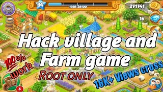 How to hack village and farm from Gameguadian 💯% [root only]😱😱😱😱 screenshot 5