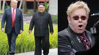 Donald Trump gifts signed CD of Elton John's 'Rocket Man' song to Kim Jong-un | Oneindia News