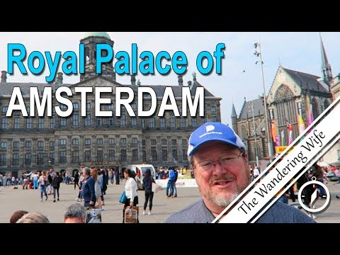 🇳🇱 NETHERLANDS: The Royal Palace Of Amsterdam Tour 🌷| TRAVEL VLOG #0109