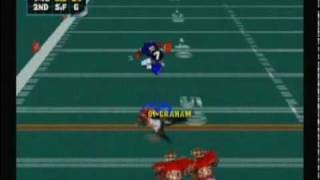 NFL Blitz 2000 - Chargers vs 49ers (First Half)