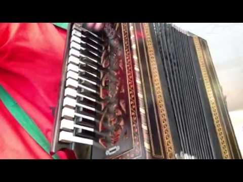 Antique accordion demo