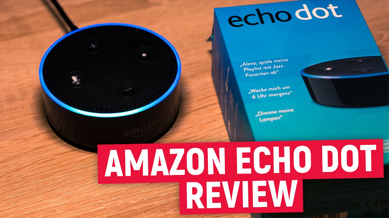 amazon echo dot test review alexa f r jeden raum. Black Bedroom Furniture Sets. Home Design Ideas