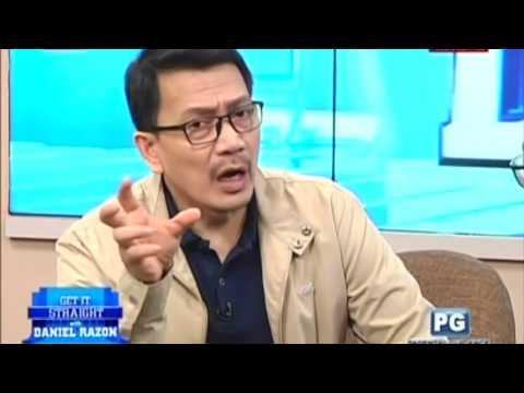 Ruffy Biazon on Get It Straight with Daniel Razon - August 11, 2017