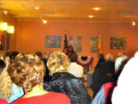 New Mexico  Governor Susana Martinez speaking at the Elephant Butte Inn & Spa