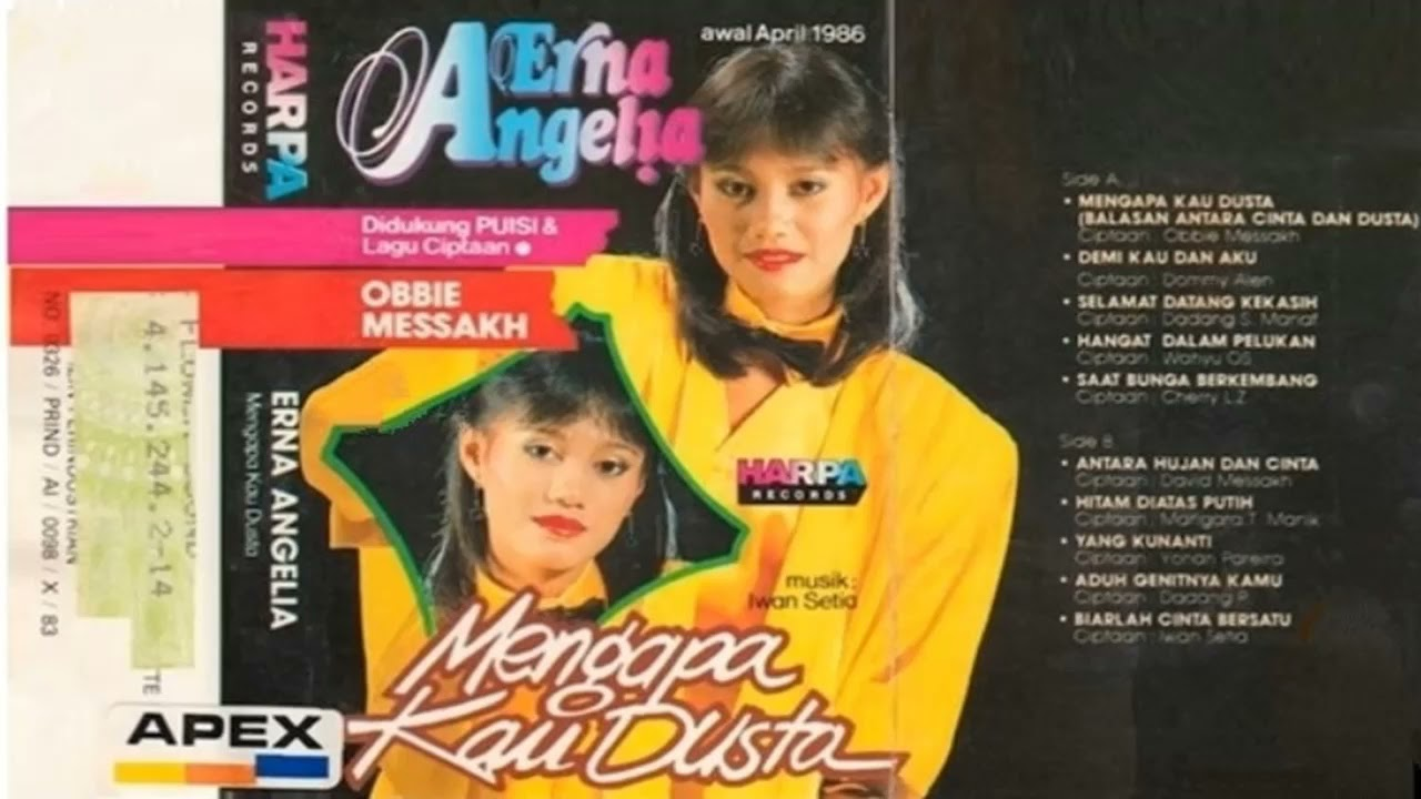Erna Angelia - Mengapa Kau Dusta