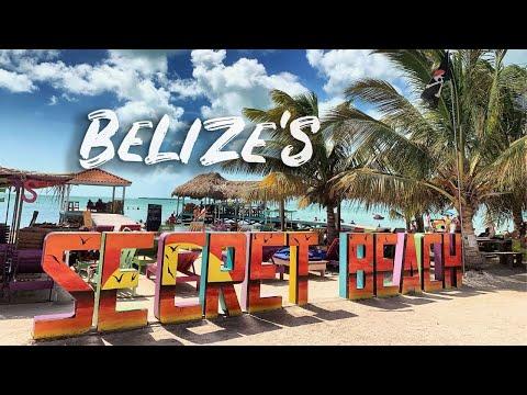 SECRET BEACH BELIZE | Best Beaches In San Pedro Belize (ambergris Caye)