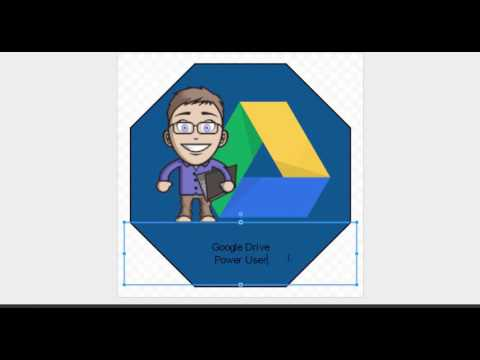 Creating a Badge with Google Drawings