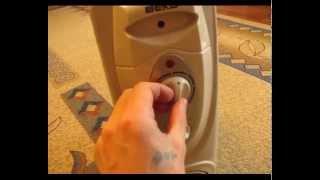 Масляный радиатор обогреватель(Описание работы масляного радиатора обогревателя. Принцип работы, регуляторы температуры и технические..., 2014-05-25T14:49:11.000Z)