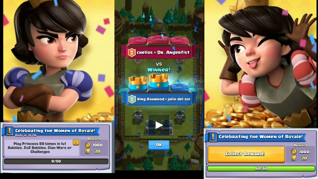 1b82e1809e79 Celebrate The Woman of Clash Royale! (Princess Quest) - YouTube