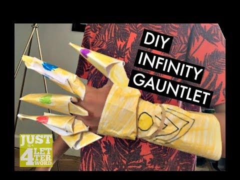 DIY INFINITY GAUNTLET