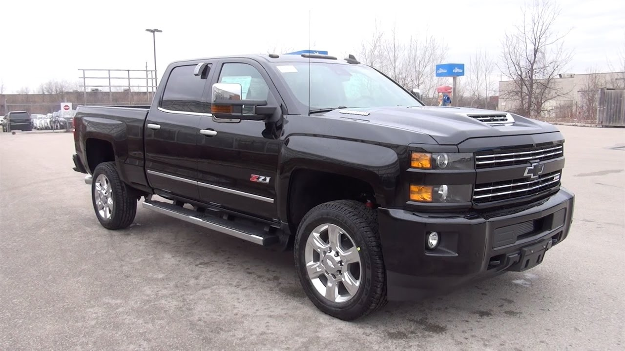 2017 chevrolet silverado 2500hd 4wd crew cab standard box ltz youtube. Black Bedroom Furniture Sets. Home Design Ideas