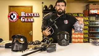 What Rental Gear Packages are Available at Lone Wolf Paintball Michigan
