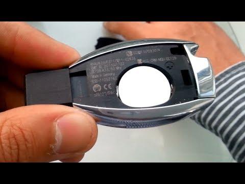 mercedes benz key battery change replacement. Black Bedroom Furniture Sets. Home Design Ideas