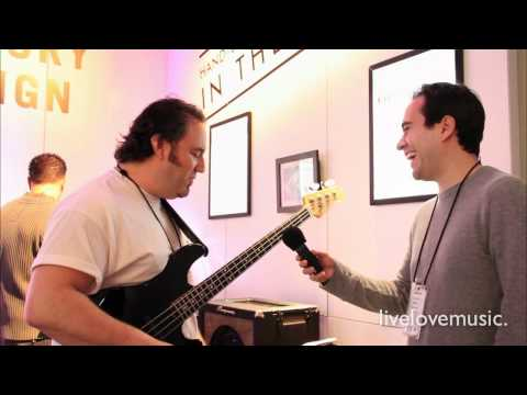 Ampeg Heritage B-15 Hand Wired Bass Amp: First Look and Demo (NAMM 2011)