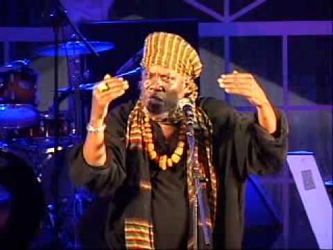 Spice Word Festival 2010 - Mutabaruka, Jamaican dub poet