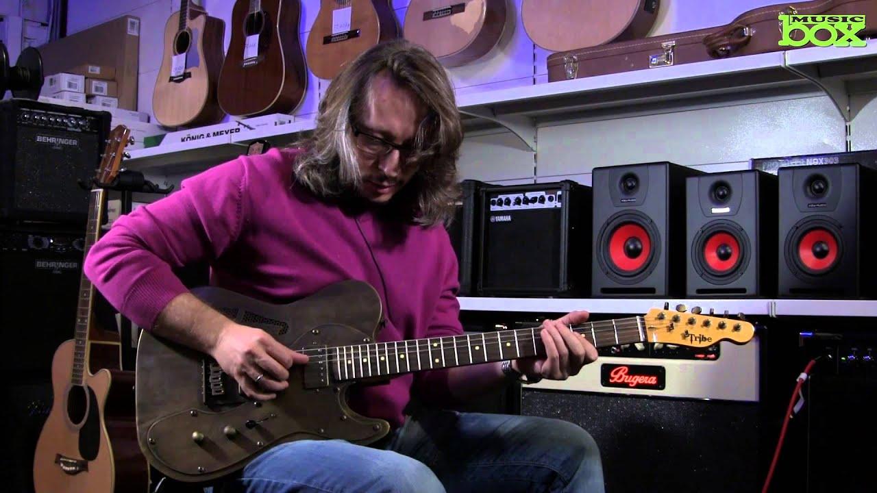 Tribe <b>Guitars</b>: электрогитара <b>TL</b> Relic Brass из кованого металла ...