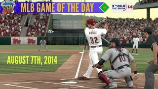 MLB 14: The Show - Game of The Day - Indians vs Reds (August 7th, 2014)
