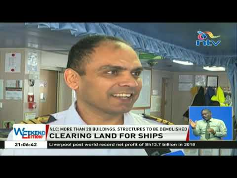 Mombasa risks losing port business due to obstructed ship path