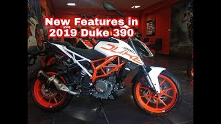 New 2019 KTM Duke 390 Updated Features Walkaround