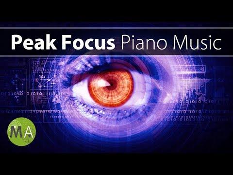 Peak Focus For Complex Tasks (Piano) Study Music - Isochronic Tones
