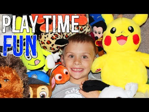 Midnight Stuffed Animal Party and Playtime