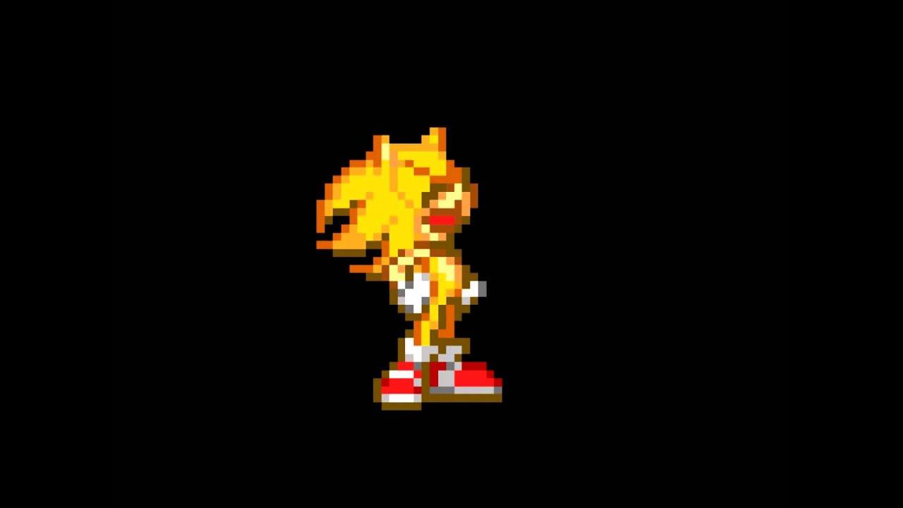 Ultimate super sonic sprites