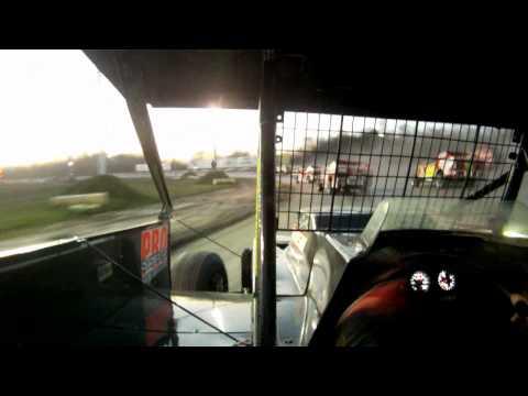 Chris Hile 5H - Utica-Rome Speedway Feature - 4-29-12.avi