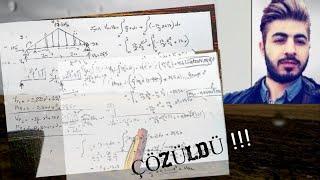 002) Trapez [çatı] Yükleme çözüm YAPISTATİĞİ 1