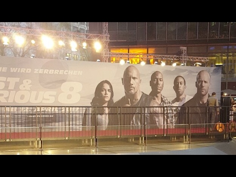 Fast and Furious 8 Premiere Event in Berlin - Live with Fasty