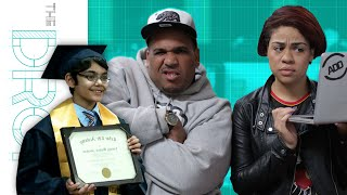 11 Year Old Graduates From College with Three Degrees - The Drop Presented by ADD