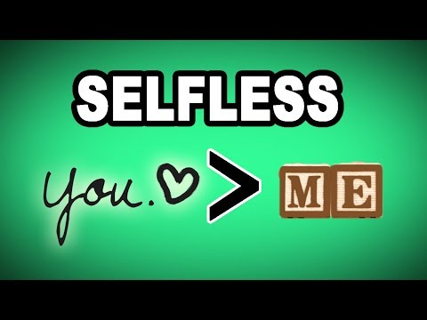 👐 Learn English Words: SELFLESS - Meaning, Vocabulary With Pictures And Examples