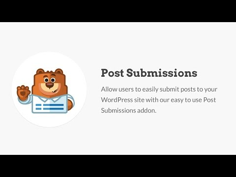 WordPress Frontend Post Submissions Forms Made Easy - WPForms