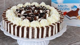 Milchschnittentorte - Milchschnitte Torte Rezept