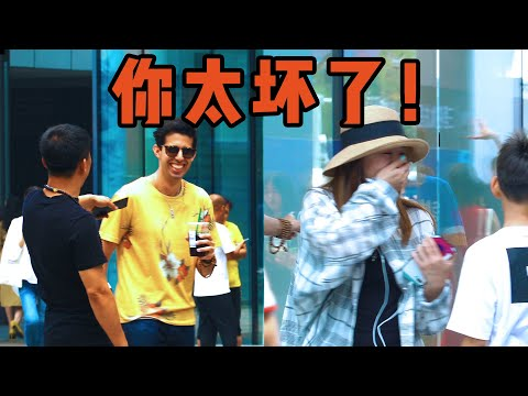 Foreigner Pranks Chinese People in Perfect Chinese | Social Experiment