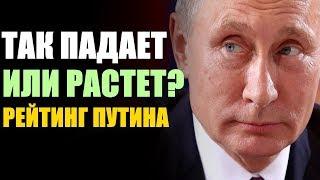 Что происходит с рейтингом Путина?