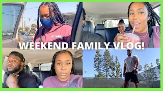 WEEKEND FAMILY VLOG!   DRIVE THRU BIRTHDAY PARTY, SHOPPING, FAMILY TIME, CHURCH AND CHILL!