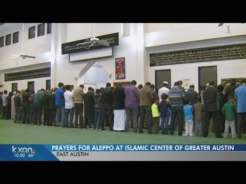 Islamic Center of Greater Austin hosted a Quran Night and Dua Night for the people of Aleppo