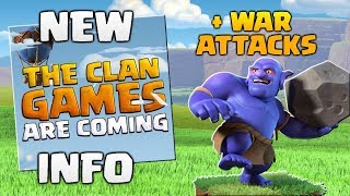 Clan Games Update Announcement! Clash of Clans Elite Gaming vs One Hive - TH9 & TH10 3 Star Attacks!