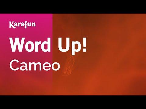 Karaoke Word Up! - Cameo *