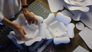 видео Как делать цветы из бумаги своими руками? Мастер-класс по изготовлению красивых и необычных  бумажных цветов