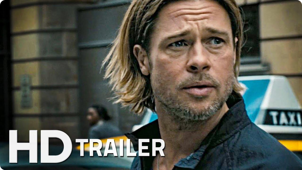 WORLD WAR Z Offizieller Trailer German Deutsch HD 2013 | Brad Pitt